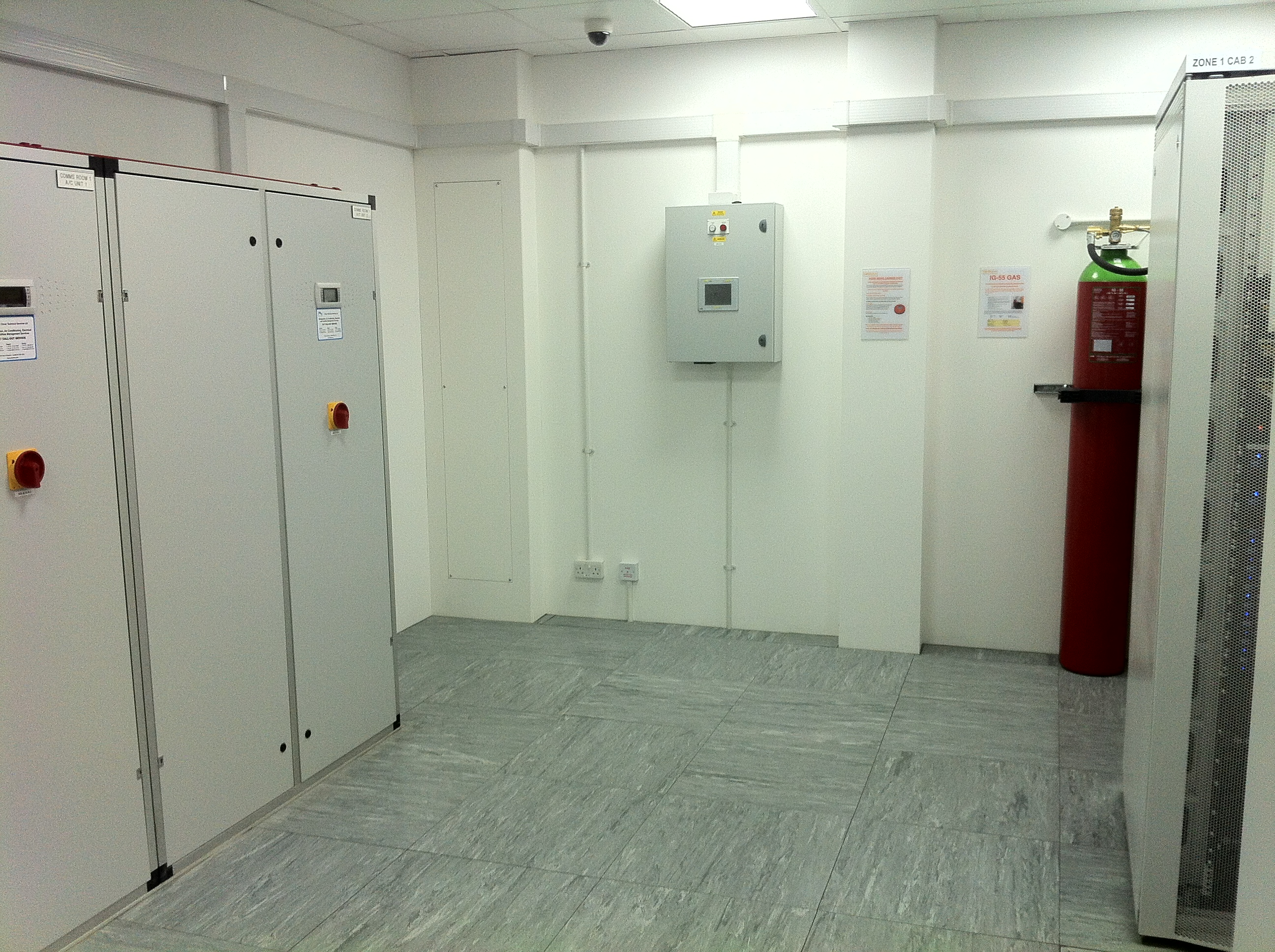 Comms Rooms